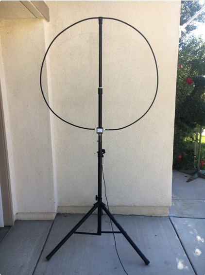 W6LVP Amplified Receive-Only Magnetic Loop Antenna - With T/R Switch